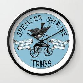 Shrike Trikes Boys Wall Clock