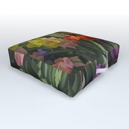 Spring Delight Outdoor Floor Cushion