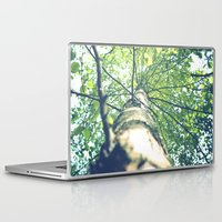 birch Laptop & iPad Skins featuring Birch by nadja-elli