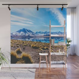 Laguna Miñiques, San Pedro de Atacama Desert, Chile Wall Mural