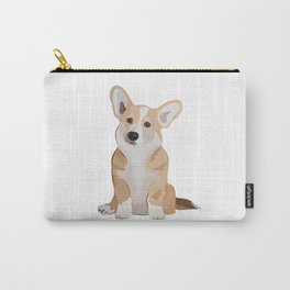 Corgi Waiting Carry-All Pouch