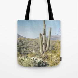 Trees and Cacti  Tote Bag