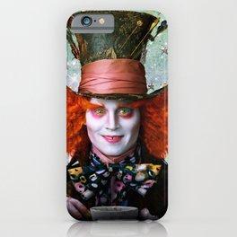 Alice in wonderland- Mad Hatter iPhone Case