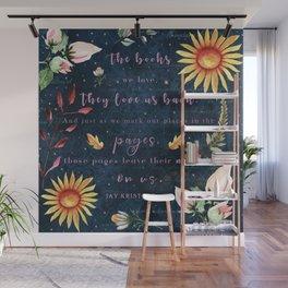 Books We Love Wall Mural