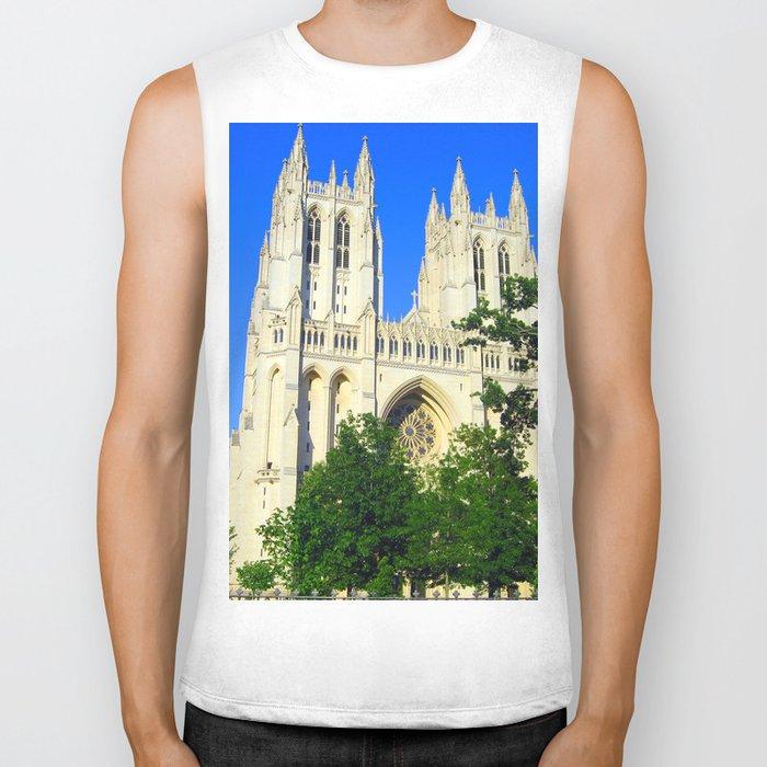 Washington National Cathedral Biker Tank