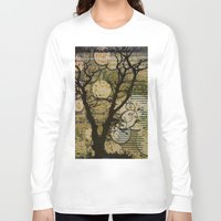 silhouette Long Sleeve T-shirts featuring Silhouette by April Gann