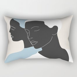 reflection - the mirror Rectangular Pillow
