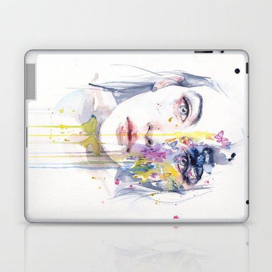 miss bow tie Laptop & iPad Skin