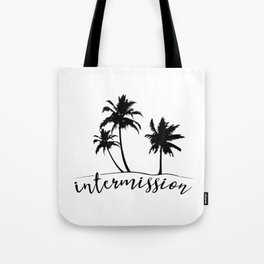Intermission - On Holiday with Palm Trees Tote Bag