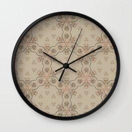 Woodstock Vibes Wall Clock