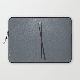 diamond in a chopsticks Laptop Sleeve