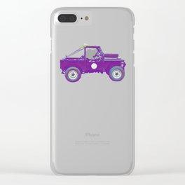 1955 Land Rover - Mavis Clear iPhone Case