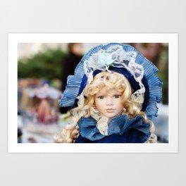 porcelain doll Art Print