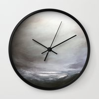 cargline Wall Clocks featuring Storm by cargline