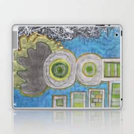 Blue and the Transformation Process  Laptop & iPad Skin