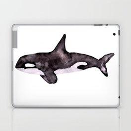 Watercolor Orca Killer Whale Laptop & iPad Skin