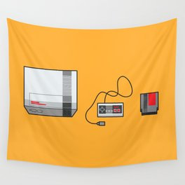 #38 Nintendo Entertainment System Wall Tapestry