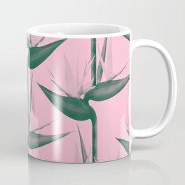 Strelitzia Alba Coffee Mug
