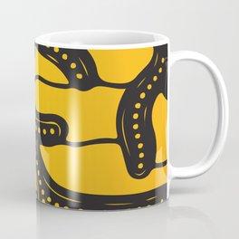 African Tribal Pattern No. 83 Coffee Mug