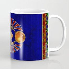 Sarcophagus 3d Egyptian Folk Art Coffee Mug