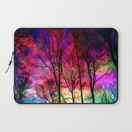 Colorful sky Laptop Sleeve