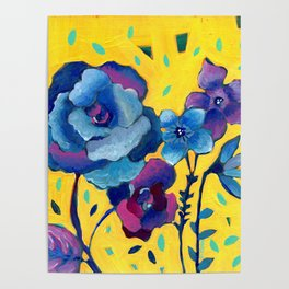 Small Floral Poster