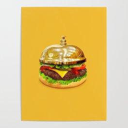 Burger Calling Poster