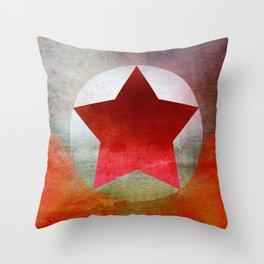 Star Composition V Throw Pillow