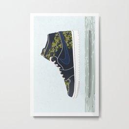 Nike II Metal Print