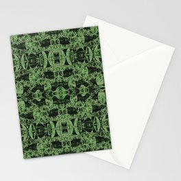 Leaves graphical structures Stationery Cards