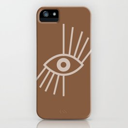 Manifesting Eye of Venus iPhone Case