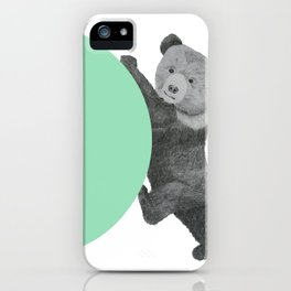 peppermint bear iPhone Case