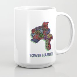 Tower Hamlets - London Borough - Colour Coffee Mug