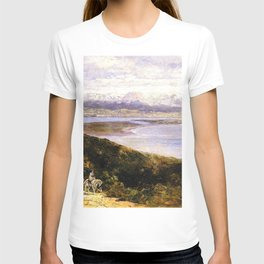 San Diego Bay From Point Loma 1907 By Thomas Hill | Reproduction T-shirt