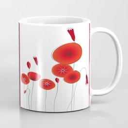 Flaming Poppies Coffee Mug