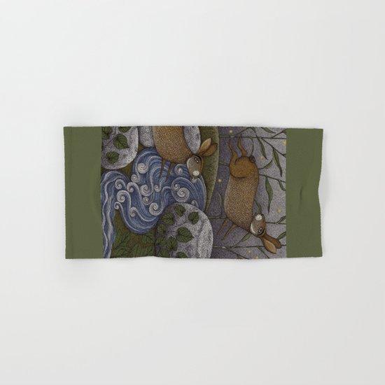 Swamp Rabbit's Reedy River Race Hand & Bath Towel