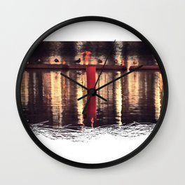 not of the same feather Wall Clock