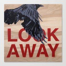 Look Away Canvas Print