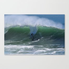 Surfer Drop In Canvas Print