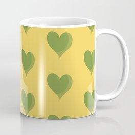 green heart Coffee Mug
