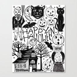 My Vintage Halloween Canvas Print