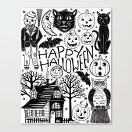 My Vintage Halloween Canvas Print