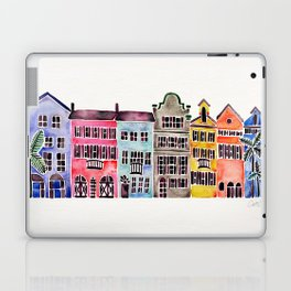 Rainbow Row – Charleston Laptop & iPad Skin