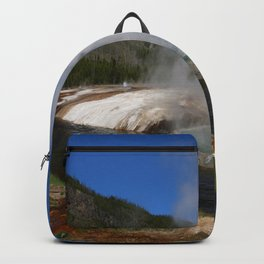 Thermal And Geyser Field Yellowstone NP Backpack