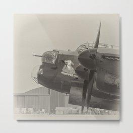 Avro Lancaster Thumper mono Metal Print