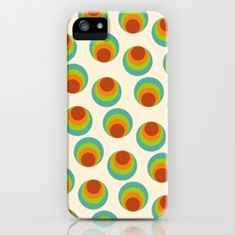 Pattern Vintage Bublle  iPhone Case