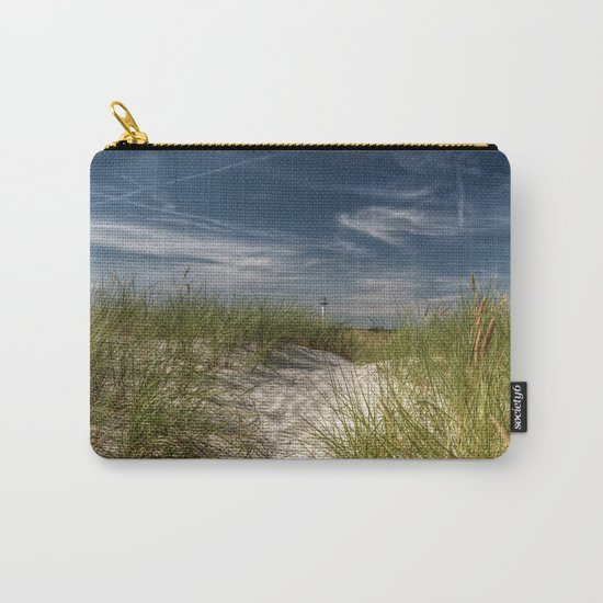 Light Tower and Dunes- Summer Beach Landscape #Society6 Carry-All Pouch
