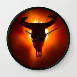 Desperado - Orange Wall Clock
