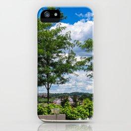 Riverboat Glances iPhone Case