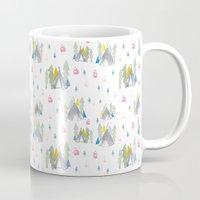 camping Mugs featuring Camping by JocoLab